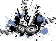 Música de Grunge Fotografia de Stock Royalty Free