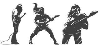 Música de hard rock Foto de Stock Royalty Free