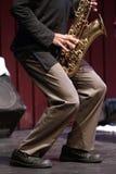 Música de jazz Foto de archivo