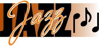 Música de jazz Imagem de Stock Royalty Free