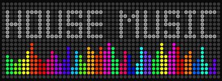 Música de la casa Imagenes de archivo