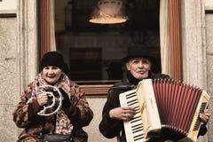 Música de la edad avanzada imagen de archivo libre de regalías
