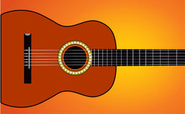 Música de la guitarra Foto de archivo