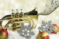 Música de la Navidad Imágenes de archivo libres de regalías