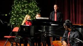 Música de la Navidad de Tchaikovsky almacen de metraje de vídeo