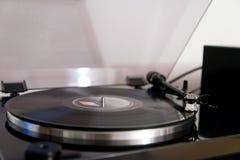 Música de la placa giratoria Imágenes de archivo libres de regalías
