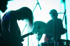 Música de Live Icelandic fotografia de stock