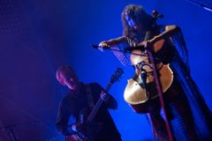 Música de Live Icelandic imagens de stock