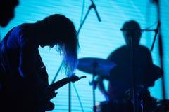 Música de Live Icelandic fotos de stock royalty free