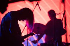 Música de Live Icelandic fotos de stock