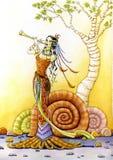 Música de los duendes Imagen de archivo libre de regalías