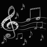 Música de metales pesados stock de ilustración