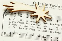 Música de natal do Natal Imagem de Stock Royalty Free
