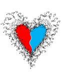 Música de seu coração Imagens de Stock