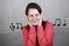 Música del alma Imagen de archivo libre de regalías