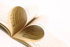Música del amor Fotografía de archivo libre de regalías