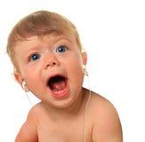 Música del bebé Imagen de archivo libre de regalías