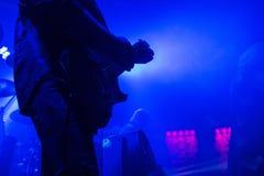 Música del concierto de rock Foto de archivo libre de regalías