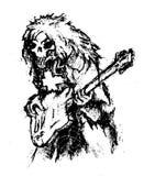 Música del horror del vector Foto de archivo