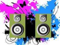 Música del vector Fotos de archivo