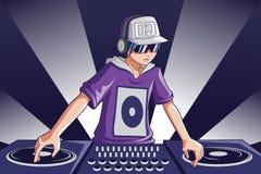 Música DJ Imagens de Stock