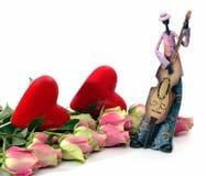 Música do amor Foto de Stock Royalty Free