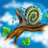 Música do caracol Fotografia de Stock