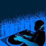 Música do DJ Imagem de Stock Royalty Free