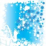Música do inverno ilustração do vetor