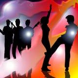 Música do partido de dança ilustração stock