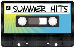 Música do verão ilustração do vetor