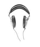 Música dos fones de ouvido Fotografia de Stock
