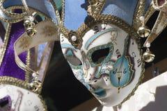 Música e máscara fotografia de stock