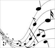 Música e música Ilustração Stock