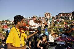 Música em Sweden Fotografia de Stock Royalty Free