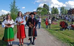 Música em Sweden Foto de Stock