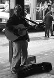 Música en el mercado Imagen de archivo libre de regalías
