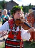 Música en Suecia fotos de archivo libres de regalías