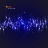 Música Eq del vector Imagen de archivo