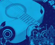A música está toda ao redor Imagens de Stock Royalty Free