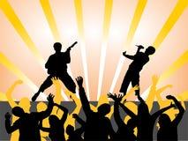 Música - festival Foto de Stock