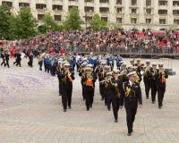 Música filarmônica romena das forças armadas da marinha Imagens de Stock
