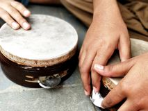 Música folk Fotografia de Stock Royalty Free