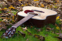 Música - guitarra Fotografia de Stock Royalty Free