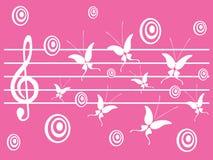 Música hermosa Fotografía de archivo libre de regalías