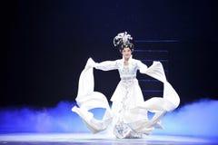 Música histórica do estilo das luvas- do anjo e mágica mágica do drama da dança - Gan Po Imagem de Stock