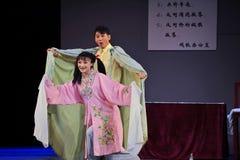 Música histórica do estilo do dueto- afetuoso e mágica mágica do drama da dança - Gan Po Imagem de Stock