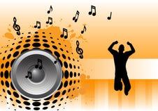 Música - ligação em ponte ilustração do vetor