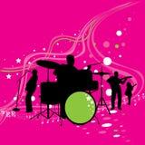 Música louca Fotografia de Stock Royalty Free