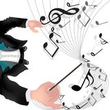 Música mágica Imagem de Stock Royalty Free